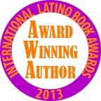 Award Winning Author logo 2013