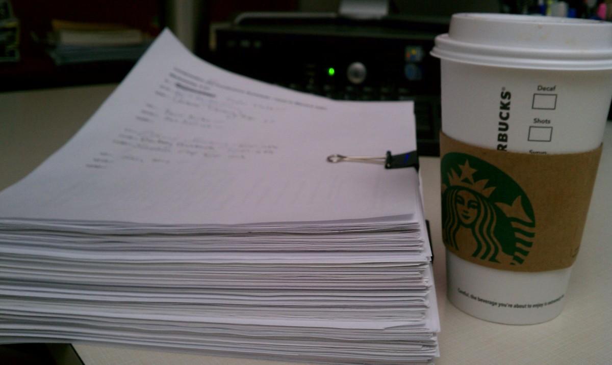 Grading essays college