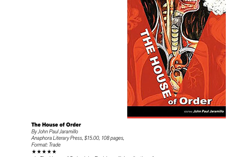 the house of order writeup in the san francisco book review