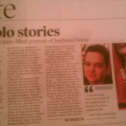 half-page writeup in pueblo chieftain