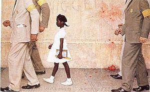 300px-The-problem-we-all-live-with-norman-rockwell