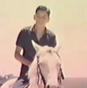 Relles on horse